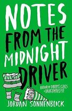 Notes From The Midnight Driver - Sonnenblick, Jordan - Paperback