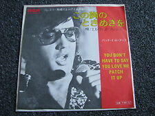 Elvis Presley-You don´t have to say you Love me 7 PS-Japan-1970-Rock n Roll