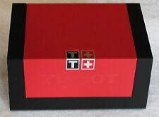 Tissot Watch Box  Square For Storage Travel Display & Pillow and Booklets