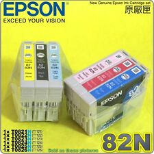 GENUINE EPSON 82N Ink cartridge T50/RX590/RX690/TX700FW/TX710W/TX800FW/TX820