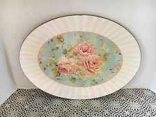 Twos Company Pink And Blue Shabby Chic Hanging Tray