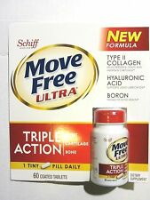 Schiff Move Free Ultra, 60 Tablets NEW Formula