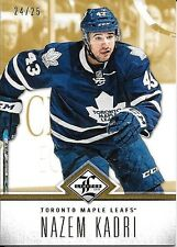 12/13 Panini Limited Gold Parallel #66 Nazem Kadri #24/25