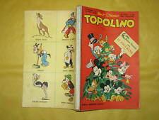 WALT DISNEY TOPOLINO LIBRETTO NUMERO 225 CON PUNTI DEL  CLUB 25 DICEMBRE 1959