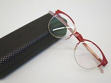 Mykita NO.1 LARA Gold Real Red Glasses Eyewear Eyeglass Frame Handmade Germany