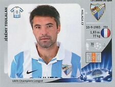 N°220 JEREMY TOULALAN # FRANCE MALAGA.CF CHAMPIONS LEAGUE 2013 STICKER PANINI