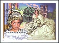 Mongolia 1997 Diana, Princess of Wales/Royal/Royalty/Wedding/People 1v m/s b1616