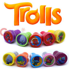 Dreamworks Trolls Stamps Set for 10pc Self Ink Color