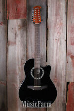 Ovation Applause Balladeer AB2412 Mid Depth 12 String Acoustic Electric Guitar