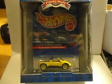 Hot Wheels Final Run Yellow Pontiac Salsa w/Real Riders