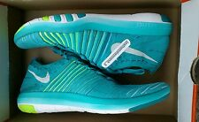 NEW W/ BOX WOMEN'S NIKE FREE TRANSFORM FLYKNIT JADE WHITE *RARE* SIZE 12 SHOE'S