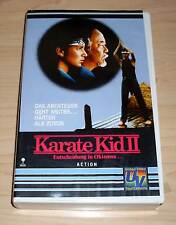 VHS - Karate Kid 2 II - Entscheidung in Okinawa - Ralph Macchio - Videokassette