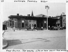 Photo. 1930s. E Boston, MA.   Sumner Tunnel Tolls
