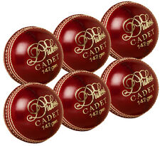 6 Pack Dukes Cadet Match Cricket Balls Youth 142g Hand Sewn Boys Juniors School