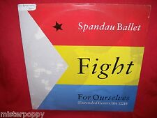 "SPANDAU BALLET Fight for ourselves LP 1986 USA 12"" Giant 45rpm EX+"