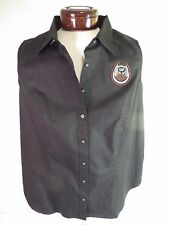Women's Harley Davidson 105th Anniversary Sleeveless Button up Shirt SZ S/L BNWT