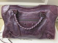 Balenciaga ARENA Classic City Violet Purple Bag (2008) from Barneys New York