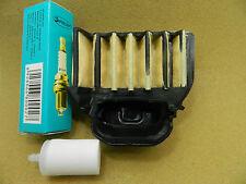 HUSQVARNA 455 455E 455 Rancher 460 air filter ,spark plug,fuel filter,service
