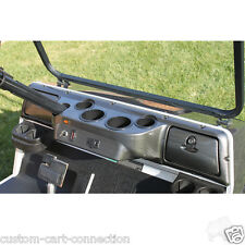 Club Car DS Golf Cart Car Dash Board Cover CARBON FIBER 4 Cup - Fast Shipping -