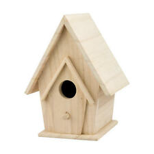 Wooden Bird House with Porch #8094