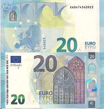 EUROPEAN UNION 20 Euros Banknote World Paper Money Europe Currency New X Germany