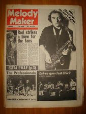 MELODY MAKER 1979 FEB 3 VAN MORRISON CLASH BLONDIE PIL