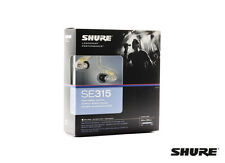 Shure SE315-CL Sound Isolating In-ear Monitor Earphones Clear Expedited Shipping