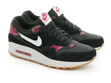 Nike Air Max 1 ALOHA PACK Running Training Women Shoes Black Size 7/8 528898-004
