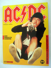 BIOGRAPHIE EN FRANCAIS AC/DC PAROLES/CHANSONS 1996 ENRIQUE TOMAS 2 POSTERS MUSIC
