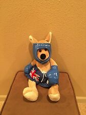 "Aussie Friends Boxer Plush The Australia Boxing Kangaroo 16"" Stuffed Toy"