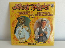 CD SINGLE JOHNNY HALLYDAY Bonnie and Clyde9838018 BE S/S Neuf sous cello