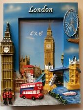 PHOTO FRAME LONDON CITY ICONS DESIGN BRITISH UK SOUVENIR GIFT