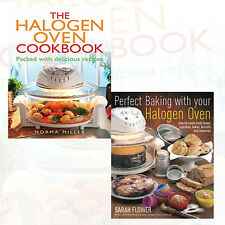 Halogen Oven Cooking Collection 2 Book Set,Perfect Baking With Your Brand NEW PB