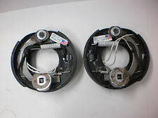 "4 -DEXTER Complete Electric Trailer Axle Brake 7"" x1.2 Backing Plates 2000# 2200"