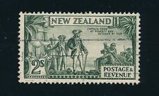 1935 New Zealand #197 2sh GREEN, CAT VALUE $50