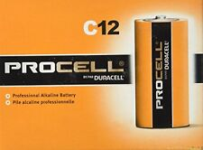 Duracell Procell Non-Rechargeable Industrial C Battery 1.5V   12/Pack