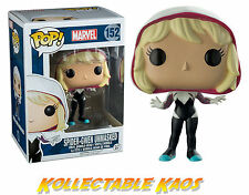 Spider-Man - Spider-Gwen Hooded Unmasked Pop! Vinyl Figure