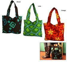 Batik Tote Bag - Shoulder Bag - Batik Purse - Beach Bag - Fair Trade in Ghana