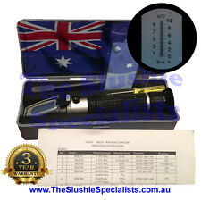 10ATC Brix Refractometer REF111 - From Aust - Daily dispatch - 3yr Warranty
