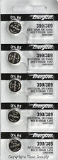 5 pc 390 / 389 Energizer Watch Batteries SR1130W 1130 0%HG