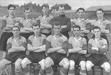LEEDS UNITED FOOTBALL TEAM PHOTO 1954-55 SEASON