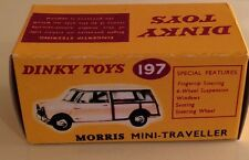 Dinky 197 Morris Mini- Traveller Empty Repro Box Only