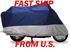 Motorcycle Cover Indian Chieftain all year blue/silver D-1