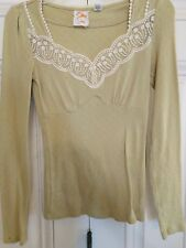 Anthropologie Lace Top Size XS