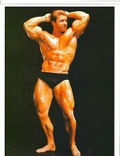bodybuilder LARRY SCOTT 1965 Mr Olympia Bodybuilding Muscle Fitness Photo Color
