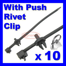 CABLE TIES KIT CAR BOAT TRAILER ZIP TIE WRAP PUSH RIVET CLIP WIRING LOOM HARNESS