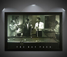 the Rat Pack Cult scene Poster  format A3 Top Print
