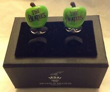 DEAKIN & FRANCES Limited Edition Apple Beatles Sterling Silver Cufflinks NIB