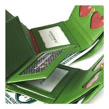 NEW Green Luxury Women's Wallet ID Card Wallet Mini Wallet