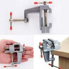 "3.5"" Aluminum Jewelers Hobby Clamp On Table Bench Vise Tool Vice Eager Nobby"